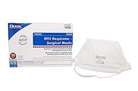 1570 uk Welcome White co N95 Amazon Folded Sterile Dukal Non Mask