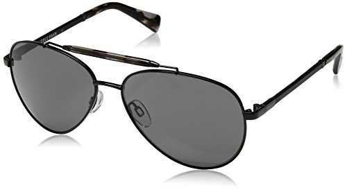 Cole Haan Men's Ch6002s Aviator Sunglasses, Dark Gunmetal, 59 - Cole Haan Sunglass Case