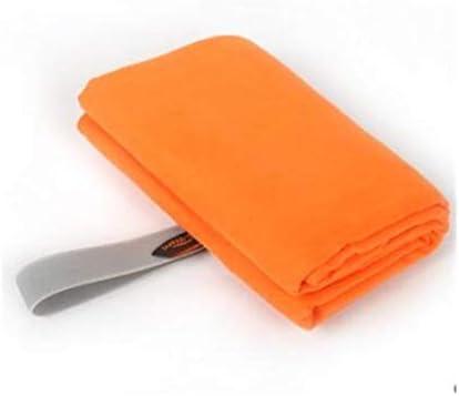 CQIANG 速乾性のタオル、究極の極細スーパーソフトファイバー冷却タオル、夏のアウトドアトラベルフィットネスヨガに最適、ピンク、132 * 78 cm (Color : Orange, Size : 132*78cm)