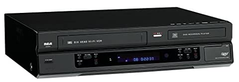 RCA DRC8335 DVD Recorder & VCR Combo With Built-In Tuner (Ideal Dvd Copy)