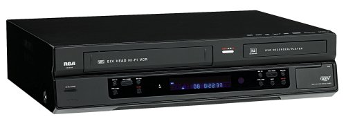 RCA DRC8335 DVD Recorder & VCR Combo With Built-In Tuner