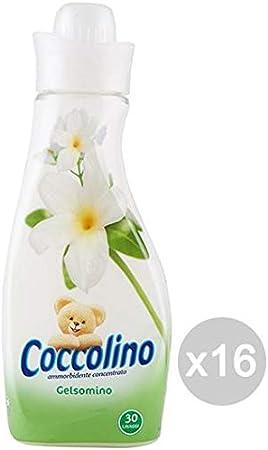 Unica Coccolino Set 16 Ammorbidente 750 Conc Rosa Seta Classico Detersivo Lavatrice E Bucato Multicolore