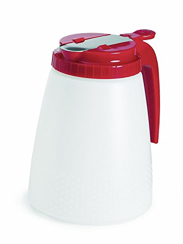 (Tablecraft All Purpose Red Top Dispenser 48 Ounce)