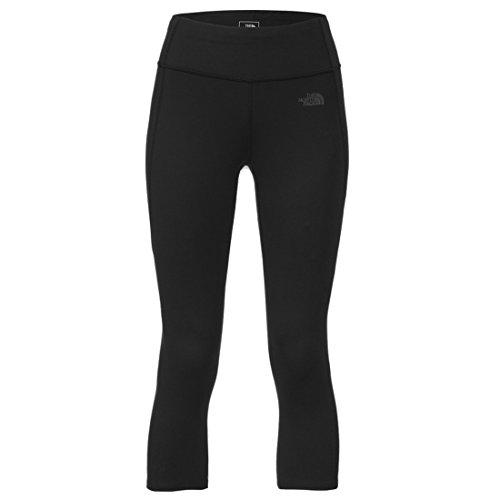 's Motivation Crop Leggings TNF Black Pants LG X 19 ()