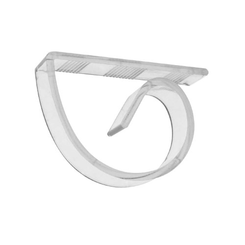 Party Essentials N10021 Hard Plastic Table Cover Clips, Clear (Case of 100)