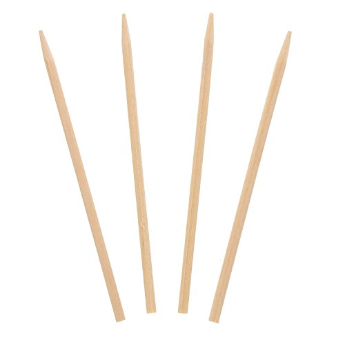 Royal 4.5'' x .15'' Wood Skewers for Grilling Meat, Satays, and Skewered Vegetables, Case of 10,000 by Royal