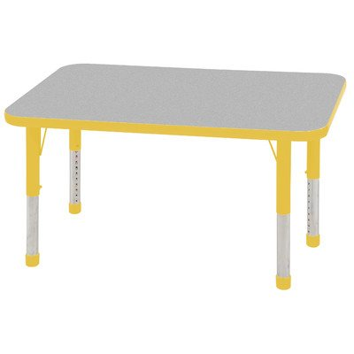 Rectangular Steel Activity Table - 1