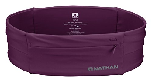 Nathan NS7702-0344-34 The Zipster Running Waist Packs, Amaranth, Large