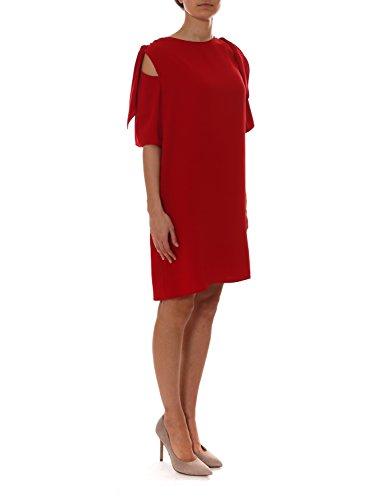 P Polyester O 722008PANTERY09 H Damen Rot R A Kleid S v4rxZ6qHvw