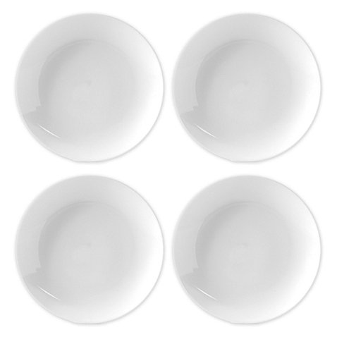 Everyday White Coupe Dinner Plates (Set of 4) by Fitz and Floyd