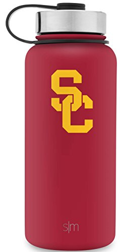 - Simple Modern 32oz Summit Water Bottle - USC Trojans Vacuum Insulated 18/8 Stainless Steel Travel Mug - USC