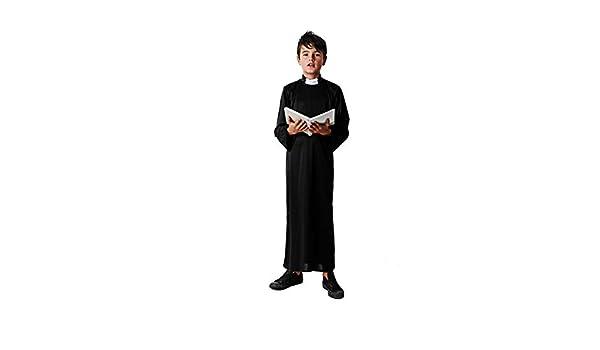 Costumizate! Disfraz de Cura Talla 7-9 Especial para niños ...