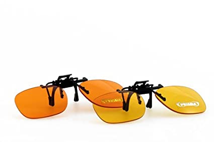 PRiSMA BlueLightProtect CLiP-ON - Gafas de ordenador para gafas (protección excelente contra la
