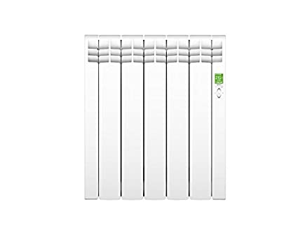 Rointe DNW0550RAD - Radiador eléctrico bajo consumo, 5 elementos (RAL 9016, 550 W