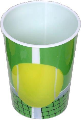 Club Pack Tennis Club Themed Printed 16 Ounce Souvenir Plastic Cups, Box of 24 - Check Souvenir Cup