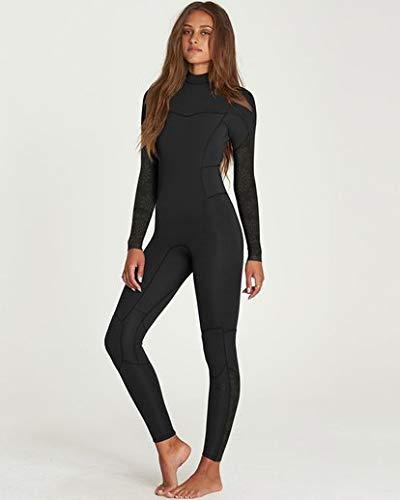 e676eaac6d Billabong Women s 4 3 Synergy Back Zip Fullsuit Black 6