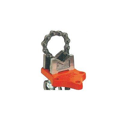 Bottom Screw Chain Vise O.D. Cap Size: 1/8'' - 4''