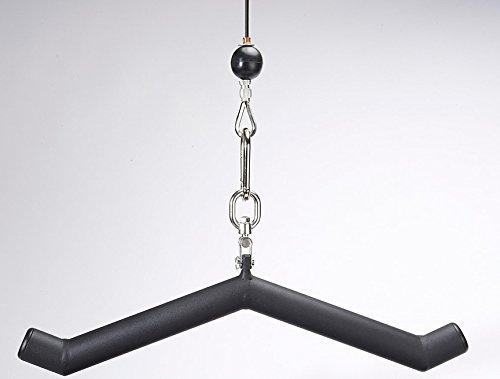 LPG Muscle Hog Legs HAM BONE 1-3/4″ 30 Degree Fat Triceps Bar Cable Attachment