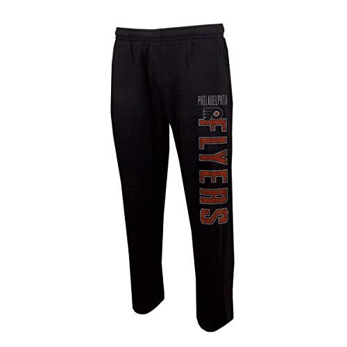- Concepts Sport Men's NHL -Squeeze Play- Retro Sleepwear Pajama Pants-Heathered-Philadelphia Flyers-Large