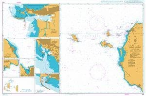 BA Chart 964: Italy, Sicilia West Coast including Isole Egadi by UKHO