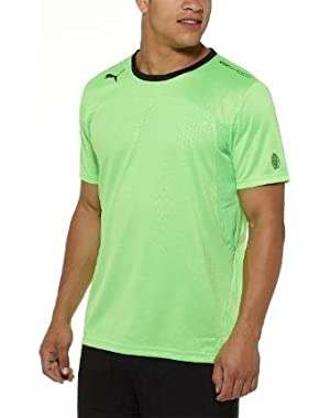 EvoSpeed Tech Performance Tee Fluro Green-Black