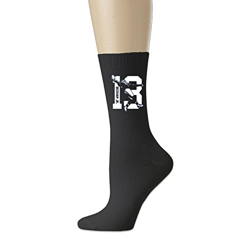 [Cotton Odell Catch All-Season Unisex Crew Athletic Socks Black (3 colors)] (Mens Dallas Cowboy Football Costumes)