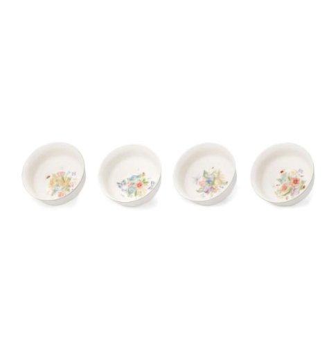 Mikasa Antique Garden Assorted Cereal Bowls - Set Of 4