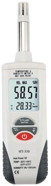 Ambient Weather WS-HT350 Fast Response Air Thermo-Hygrometer with Wet Bulb Psychrometer, Dew Point Meter by Ambient Weather by Ambient Weather