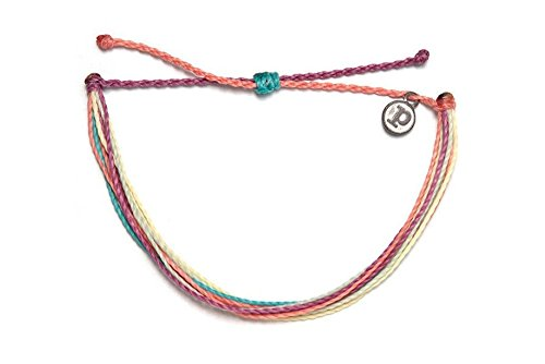 - Pura Vida Life in Color Bracelet - Handcrafted - 100% Wax Coated Waterproof Adjustable Bracelet