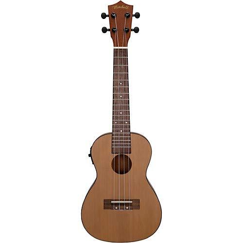 (MU50SE Acoustic-Electric Concert Ukulele with Solid Cedar Top)
