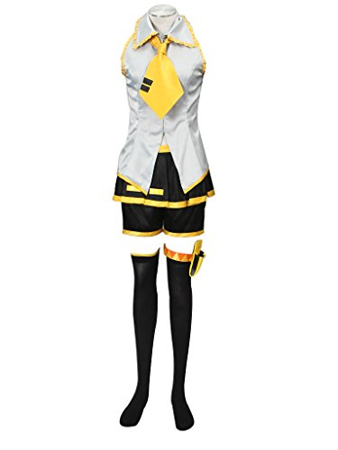 Mtxc Women's Vocaloid Cosplay Costume Akita Neru 2nd Size X-Large Silver