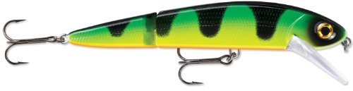 Storm FlatStick Jointed 16 Fishing Lure, Green Tiger, 6-1/4-Inch