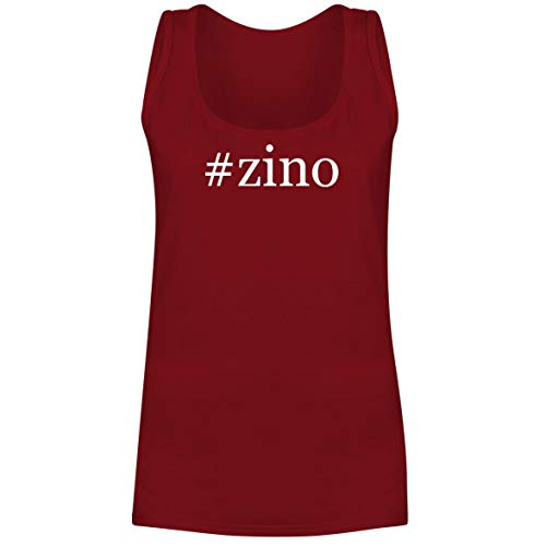 - #Zino - A Soft & Comfortable Hashtag Women's Tank Top, Red, Small