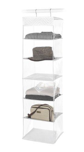 Whitmor 6-Shelf Hanging Accessory Bag