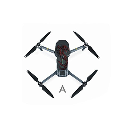 Pro Drone,Laimeng Waterproof Fiber Stickers Decal Skin Protector Aerocraft (Wet Cube Collection)