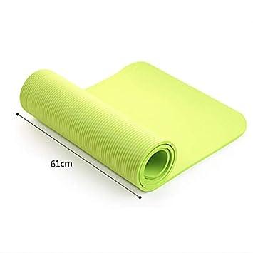 YOOMAT 4 MM Ejercicio Yoga Pad Mat Antideslizante Durable ...