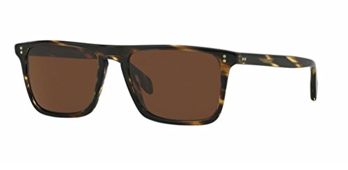 Oliver Peoples - Bernardo - 5189 54 - Polarized Sunglasses (COCOBOLO, Crystal Polar ()