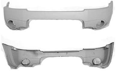Front Primed Bumper Cover Assembly Replacement For 02-04 Nissan Xterra