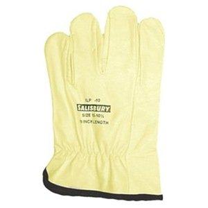 Honeywell ILP10/10 W H Salisbury 10 ILP Series Top Grain Cowhide Linesmen Glove Protectors, Size 10, Yellow by Honeywell B009KG0F8M