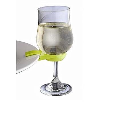 Epicurean Europe Ltd 14 x 8 x 4 cm Plastic Wine Glass Plate Clips ...