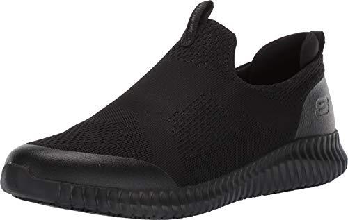 Skechers Work Relaxed Fit Cessnock Colleton SR Mens Slip On Sneakers Black 13