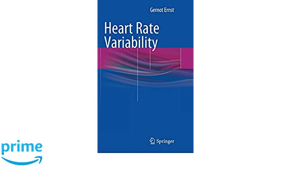 Heart Rate Variability: Gernot Ernst: 9781447143086: Amazon