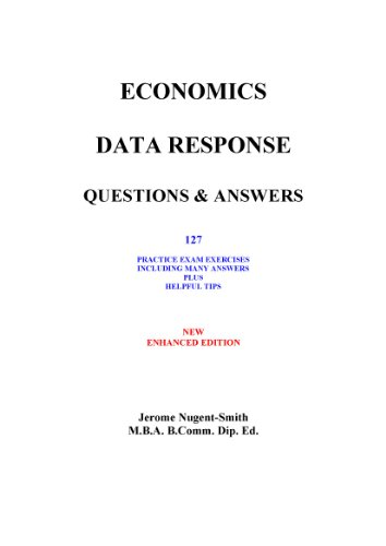 Amazon economics data response questions answers 127 economics data response questions answers 127 practice exam exercises including many answers and helpful fandeluxe Images
