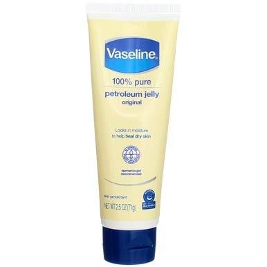 Vaseline Petroleum Jelly 2.5 Ounce Original Tube (71g) (6 Pack) ()