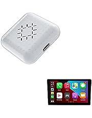 CarlinKit Mini adaptador inalámbrico CarPlay, aplicable a todos los vehículos con cable Apple CarPlay, cable a inalámbrico, compatible con iPhone iOS 10 a 14.7, habilitar Siri/conexión automática/navegación/refrigeración, lo último