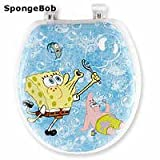 Ginsey Spongebob Bubblemania Soft Toilet Seat