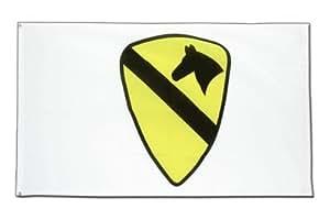 Estados Unidos US AIRBORNE 1st Cavalry Bandera, Americano Bandera 90x 150cm, maxflags®