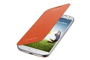 Samsung Galaxy S4 Flip Cover Folio Case, Orange (EF-F1950BOEST1)