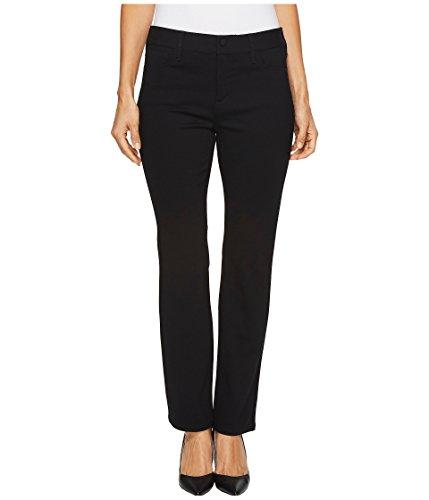 NYDJ Women's Petite Size Sheri Slim Jean, Black, 10P by NYDJ