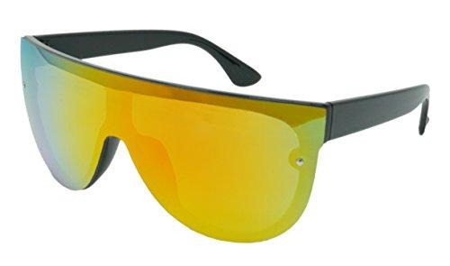 Funny Guy Mugs Rad Unisex Retro Mirrored Sunglasses, - Guy Big Glasses